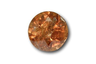 Grenat change couleur / vanadium naturel 0.72 carat, orange / vert