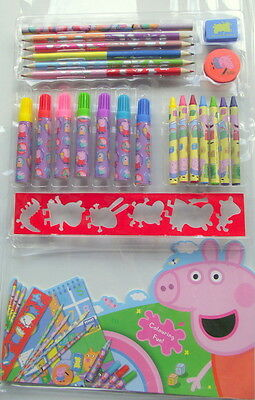 Peppa Pig Large colouring art set