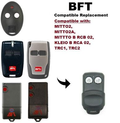 BFT MITTO 2 Compatible Replacement Remote Control Key Fob (Battery included)