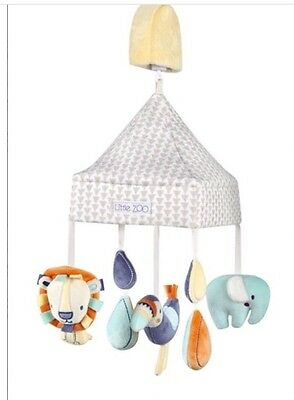 Next Little Zoo Musical Cot Mobile Nursery - * Brand New in Box *