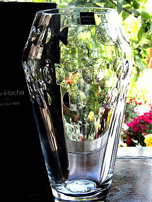 Waterford Crystal Large John Rocha Rian 12in Bouquet Vase  New