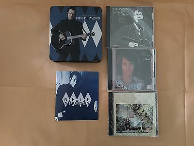 Forever Neil Diamond 3 CDs tin set NOS with booklet In Embossed Tin Set - NICE!