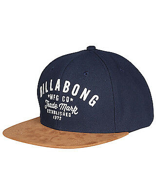 Billabong Sama Mens Snapback Cap in Navy
