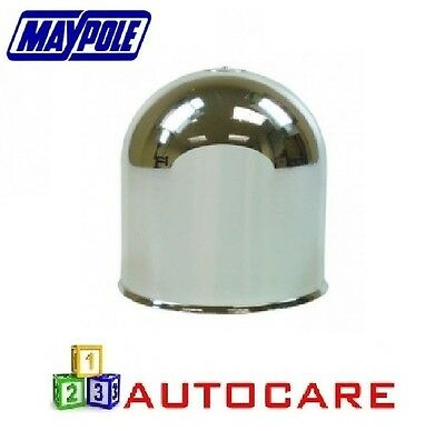 Chrome Tow Bar Ball Plastic Cap for towing hitches 50mm MP130