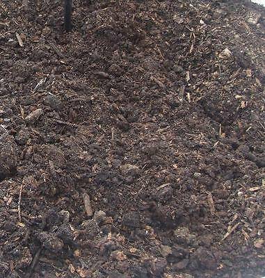 Horse Manure Compost 40 X 75 LITRE BAGS Well Rotted Organic Mulching Nationwide