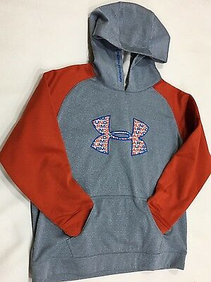 Under Armour Boy's Size Youth XL Hoodie Sweatshirt Pullovers Sweaters