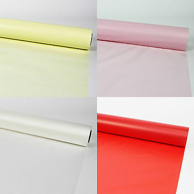 80cm Wide Thick Frosted Cellophane Hamper Gift Wrap Roll