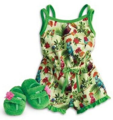 LEA'S RAINFOREST DREAM PJS AG American Girl Doll Clothe Outfit New In Package