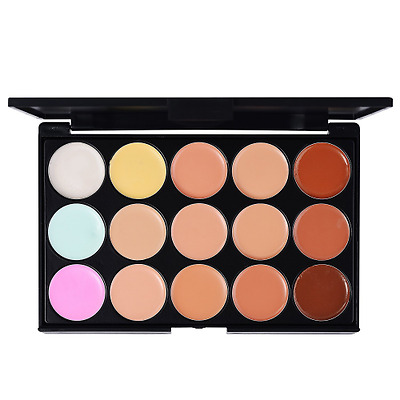 LIHAO Correttore Concealer 15 Colori Cosmetico Make Up Palette Kit