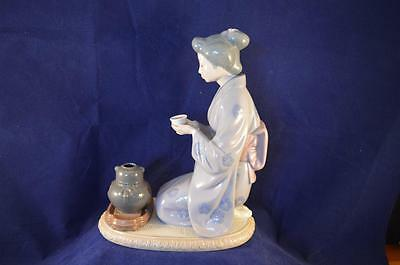 Stunning Retired Lladro Figurine August Moon 5122 - Perfect