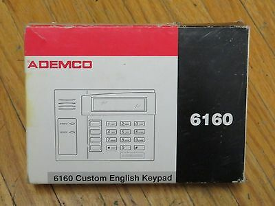 ADEMCO 6160 Custom English Security Keypad