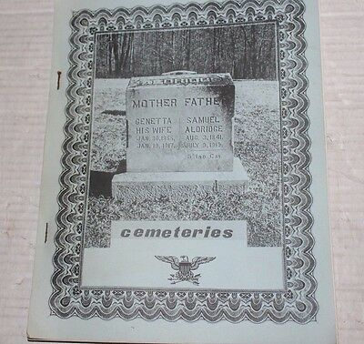Naval Weapons Support Center Crane Martin County Indiana Cemeteries 1960/70s TPB