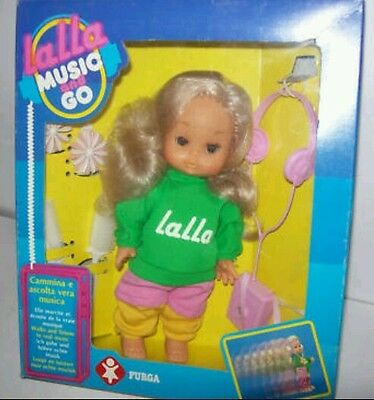 LALLA MUSIC & GO Furga 1983-RARE VINTAGE DOLL 80s-MADE In ITALY-VINTAGE Anni 80
