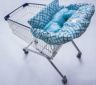 Premium Quality Supportive 2-in-1 Baby Shopping Cart Cover & High Chair Cover