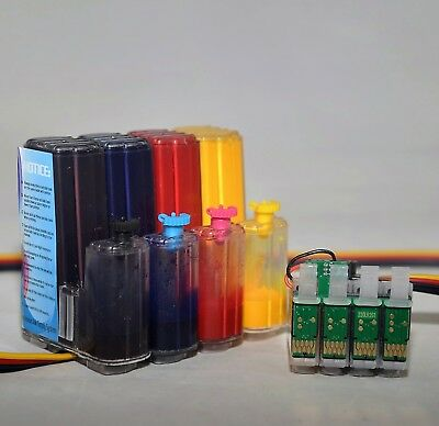 Sublimation ink system CISS for epson WF-7720 WF-7710 WF-7210 T252 cartridge