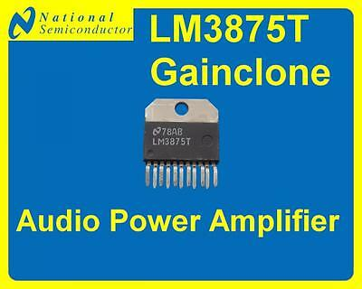 [1pc] National Semiconductor LM3875T High-Performance 56W Audio Power Amplifier
