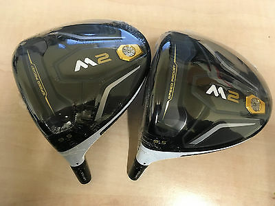 NEW LEFT HANDED TOUR ISSUE TaylorMade M2 9.5° Driver HEAD ONLY - Choose Head