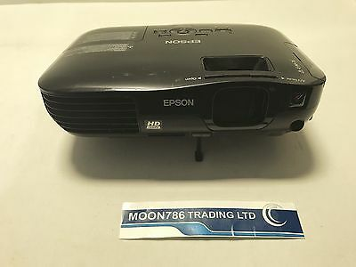 Epson Eh-Tw450 Hdmi 3Lcd Projector Used 629 Lamp Hours Tested Working - Ref 973