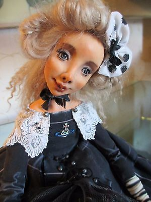 "ooak doll ""Pappy Longstocking"" 17"" artist AlinaAlyona"