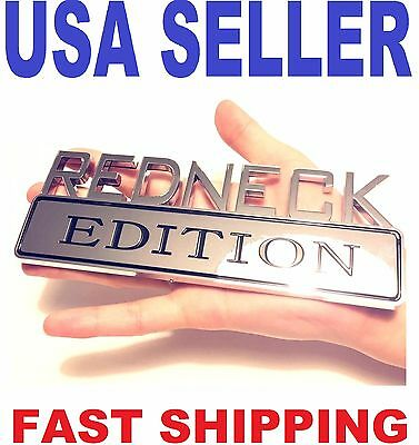 REDNECK EDITION old car PACKARD HUDSON STUTZ TRIUMPH EMBLEM logo decal BADGE ...
