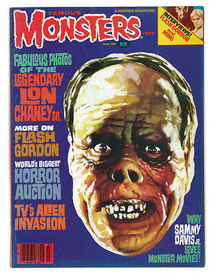 Famous Monsters of Filmland No 171 March 1981 HORROR MAGAZINE