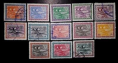 SAUDI ARABIA 1964-68 Gas-Oil Separating Plant, All Mostly Used Not Hinged NG VF