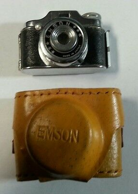Emson Camera With Case Made In Japan