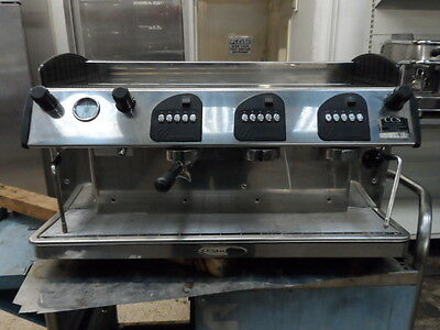 Stafco 3 Group Commercial Espresso Coffee Machine
