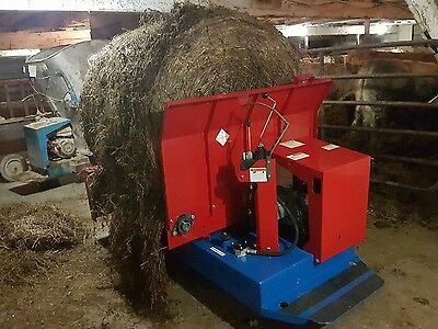 Self Propelled 4'x5' Round Bale Unrollers