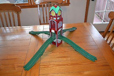 Fisher Price GEOTRAX High Chimes Clock Tower & Elevation  Ramps