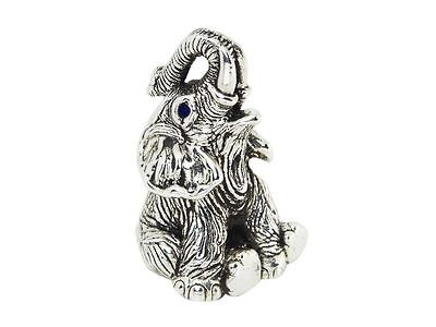 Collectable Novelty Sitting Elephant Figurine 925 Sterling Silver Hallmarked