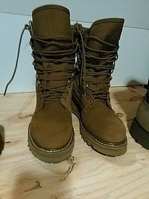 New Corcoran 3200  Military Boots Size 5 R Brown