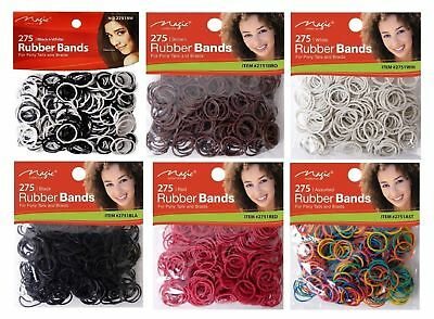 275 Pcs Small Elastic Rubber Braiding Plaits PONY Hair Elastic Bands CHEAPEST!!