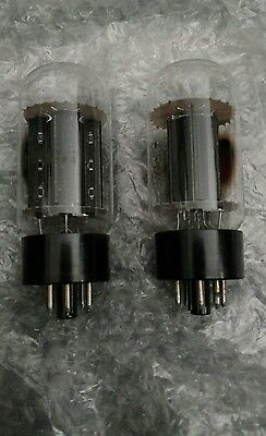 RCA 6L6GC 2-Tubes Used Tested PAIR USA