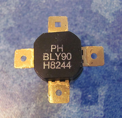 Philips RF power transistor BLY90 (BLY-90) 50W@175MHz