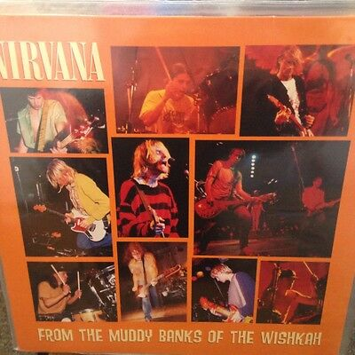 Nirvana From the muddy banks of the Wishkah EX vinyl record