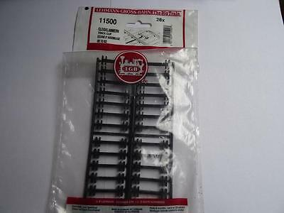 LGB 11500 Track Clips Pack of 28 pieces G Scale (UK)