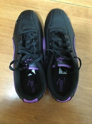 Puma Running Shoes Purple Basically New American Woman's Size 8