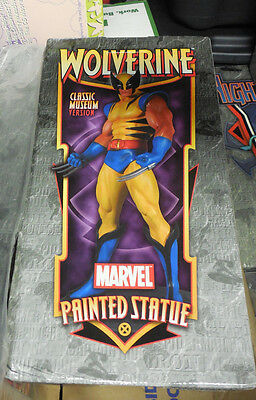 Wolverine Statue classic Bowen Limited To 1600 signed by stan lee