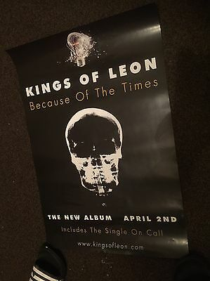 Kings Of Leon- Only By The Night- Rare Original Promo Poster Unused
