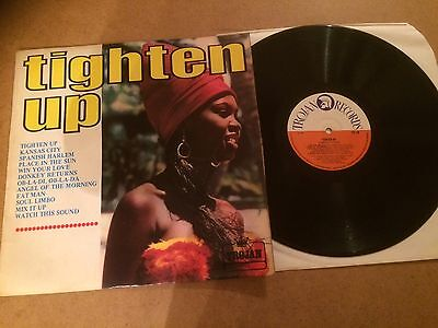 Tighten Up  Lp  Orig 1969 Trojan Records Ttl 1   Various  Artists  Ex Con