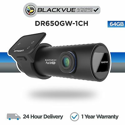 Blackvue DR650GW - 1CH 64GB DVR Front Car Dash Camera With Wifi GPS Full HD