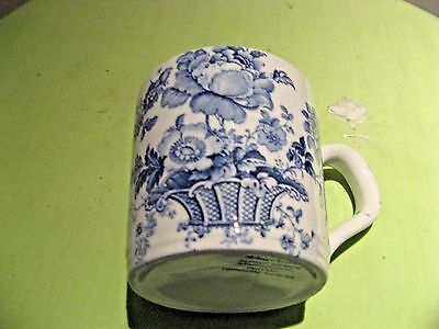 Alfred Meakin 'charlotte' Blue Cup Staffordshire England, Euc