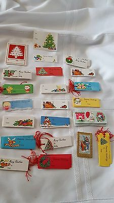 vintage christmas gift tags stickers old items antique cards