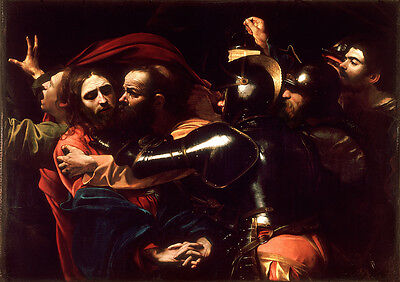 Caravaggio: The Taking of Christ. Art Print/Poster (0020800)