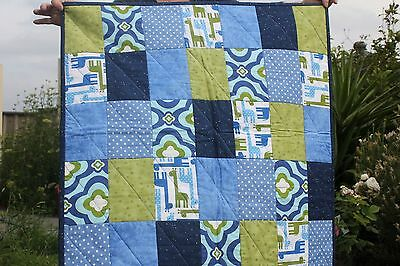 Cot, Lap or Floor Quilt for Baby or Child