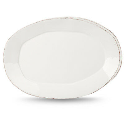 NEW Virginia Casa Lastra White Oval Platter
