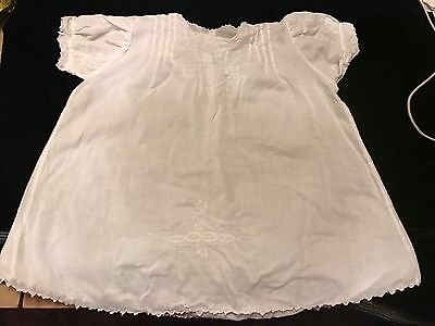 Vintage Madeira White Baby Dress Approximately 3-6 Months