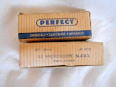 Microscope slides Vintage 23 total Perfect brand