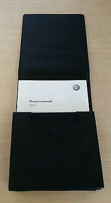 Volkswagen Tiguan owners manual and service book with wallet 2009 2010